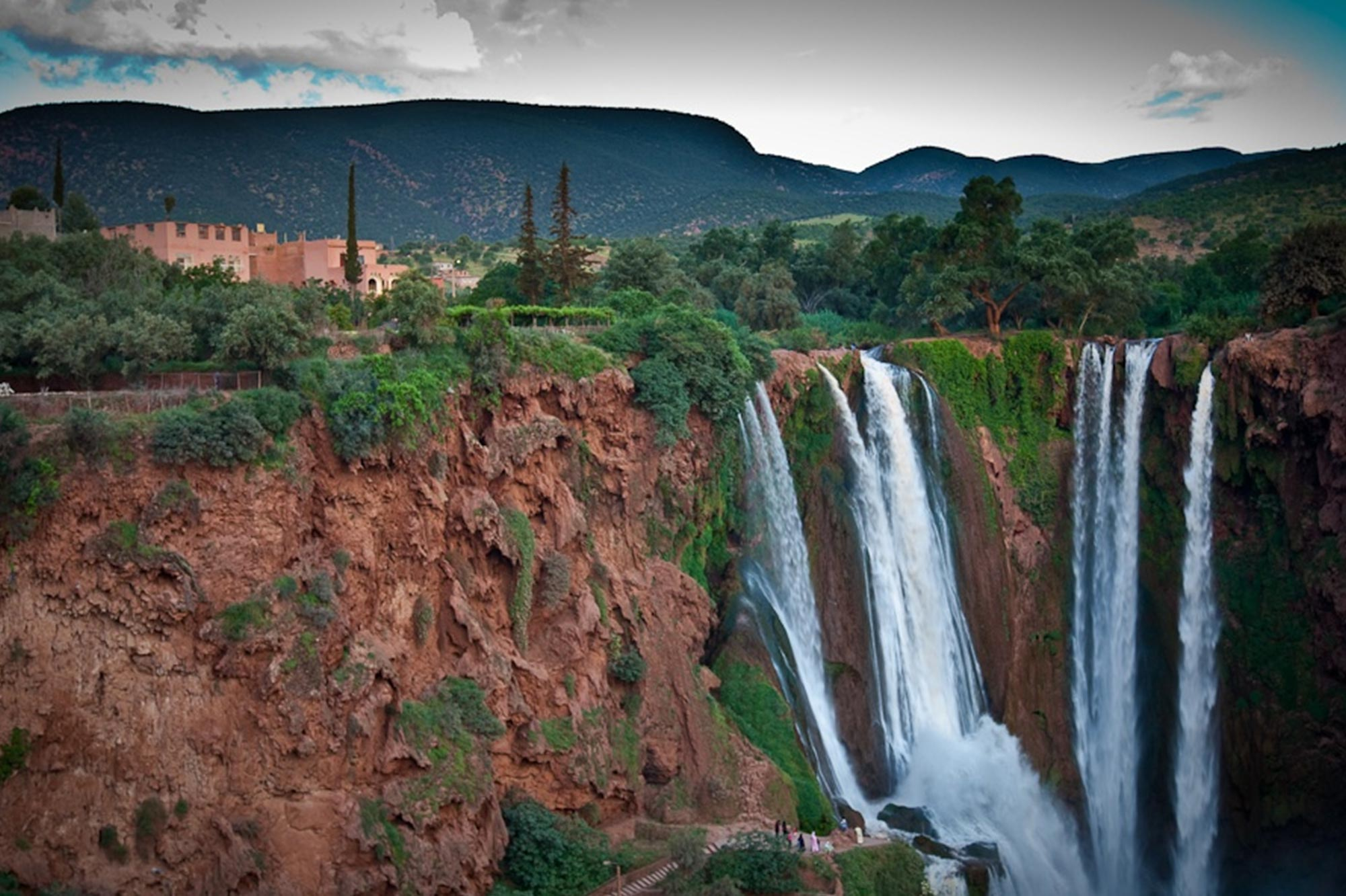 ouzoud falls morocco water waterfalls marrakech map desert trip
